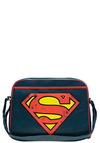 LOGOSHIRT Schultertasche mit coolem Superman-Logo kaufen