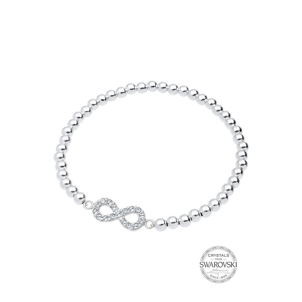 Elli Armband »Infinity Swarovski® Kristalle 925 Silber Liens«