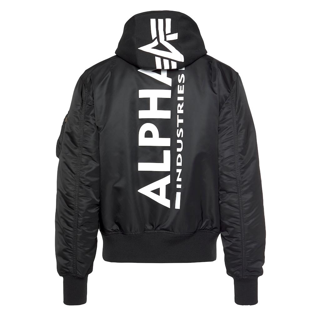 Alpha Industries Bomberjacke »MA-1 ZH Back Print«