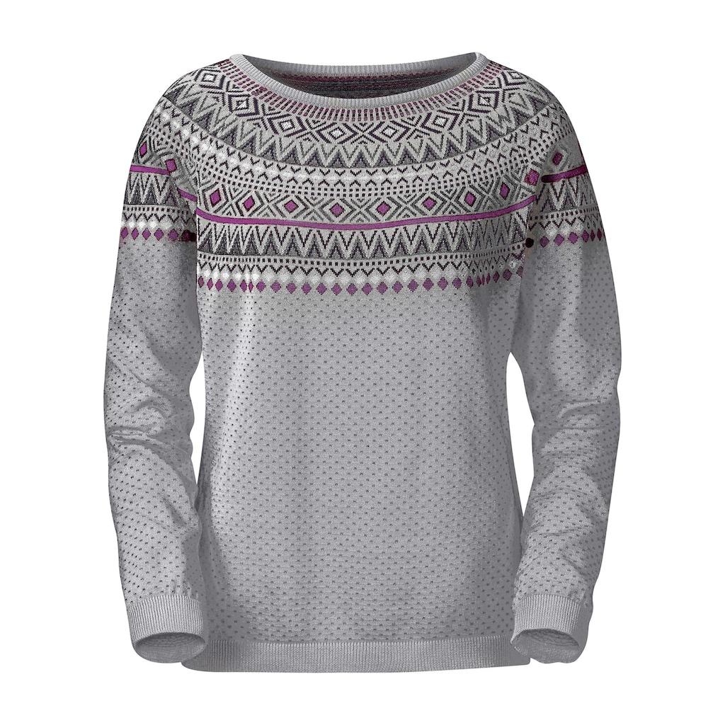 Inspirationen Norwegerpullover »Pullover«