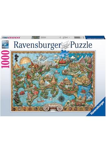 Ravensburger Puzzle »Geheiminsvolles Atlantis«, FSC® - schützt Wald - weltweit; Made... kaufen