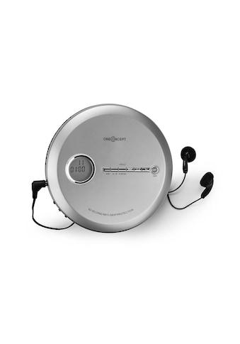 ONECONCEPT Discman CD-Player tragbar Antishock ESP MP3 CD-RW Akku »CDC-100MP3« kaufen
