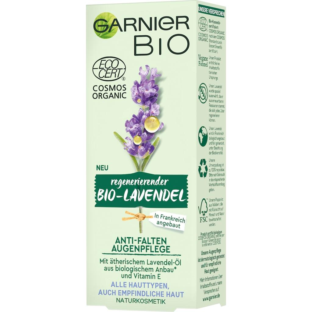 GARNIER Augencreme »Bio Regenerierender Lavendel Anti-Falten«