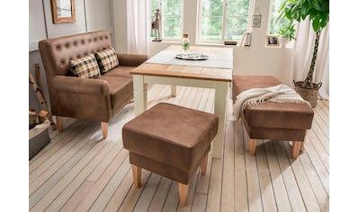 Home affaire Küchensofa »Scalea«, mit Federkern, inkl. Zierkissen kaufen
