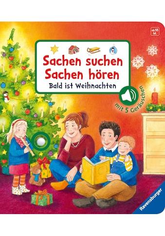 Buch »Sachen suchen, Sachen hören: Bald ist Weihnachten / Frauke Nahrgang, Fabian &... kaufen