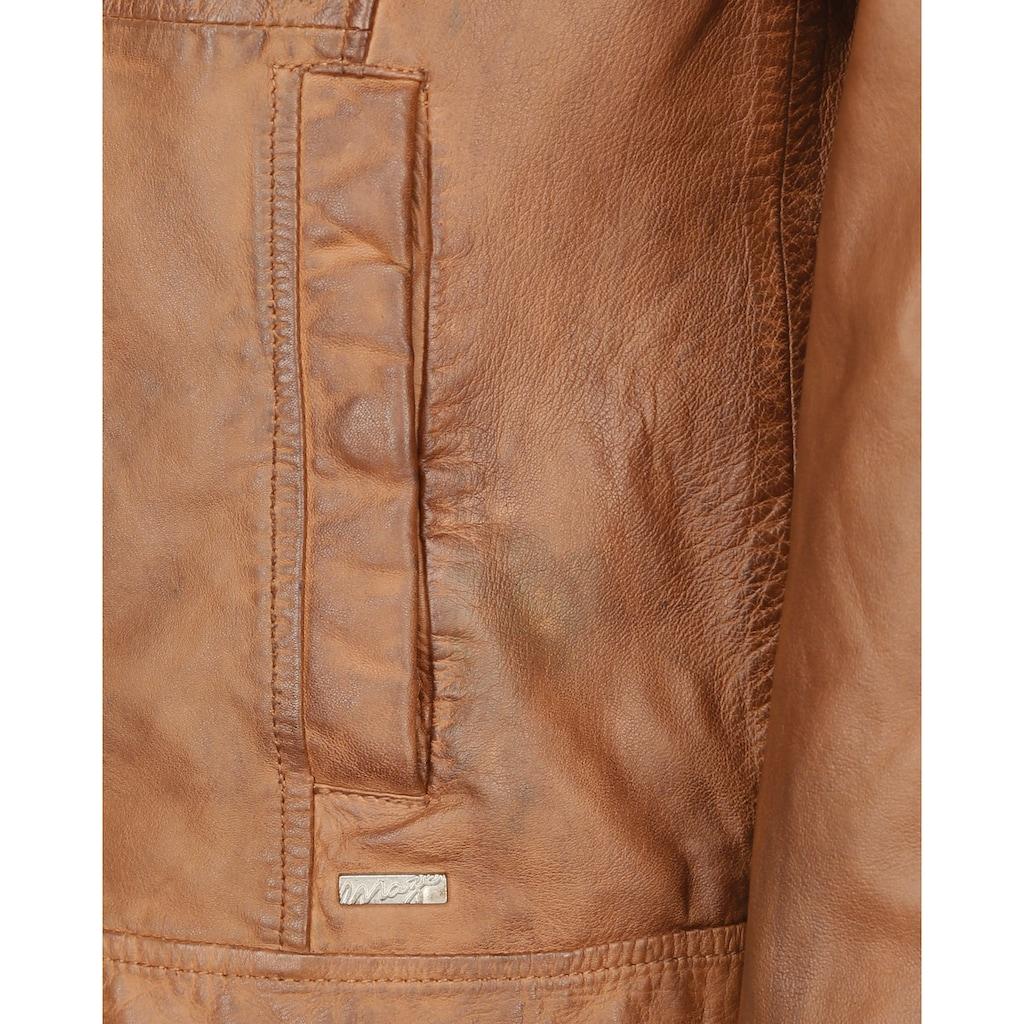 Maze Lederjacke mit Reißverschluss