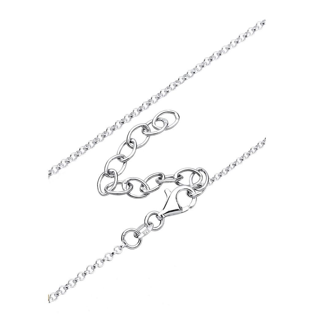 Elli Collierkettchen »Y-Kette mit Kreuz und Infinity Symbol 925 Silber«