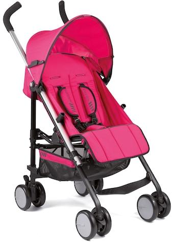 Gesslein Kinder-Buggy »S5 4+4, Pink«, mit schwenkbaren Vorderrädern kaufen