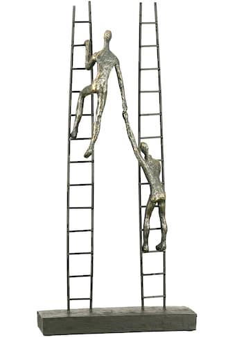 Casablanca by Gilde Dekofigur »Skulptur Rise, bronzefarben«, Dekoobjekt, Höhe 43,... kaufen
