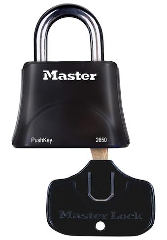 MASTER LOCK Vorhängeschloss »PushKey & Trade«, für Menschen mit eingeschränkter Handmobilität kaufen