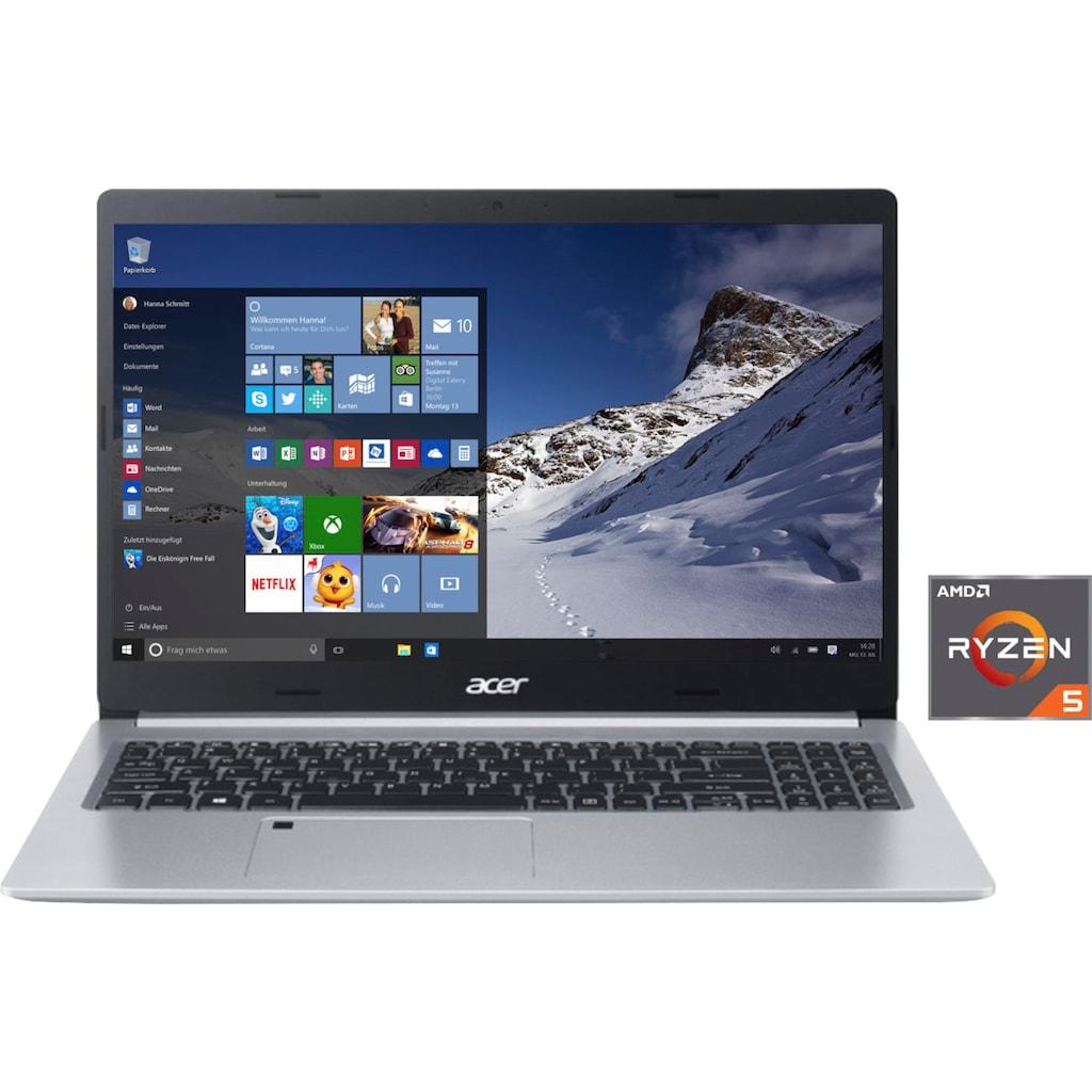 """Acer Notebook »A515-45-R3UG«, (39,62 cm/15,6 """" AMD Ryzen 5 \r\n 512 GB SSD), Kostenloses Upgrade auf Windows 11, sobald verfügbar"""