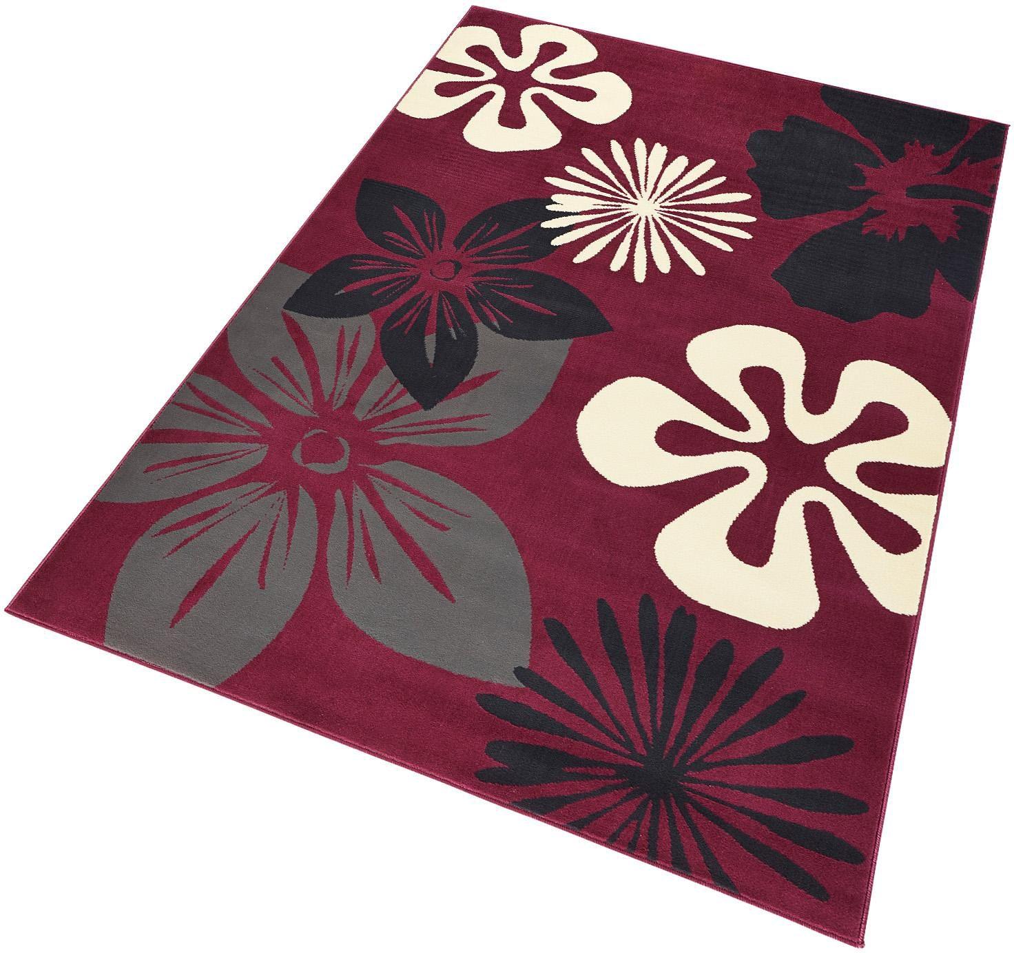 Teppich, »Flora«, Hanse Home, rechteckig, Höhe 9 mm, maschinell gewebt