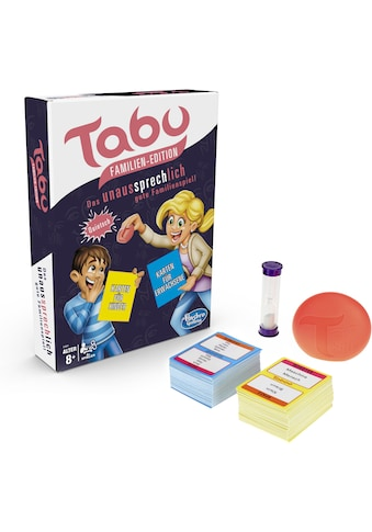 Hasbro Spiel »Tabu Familien-Edition«, Made in Europe kaufen