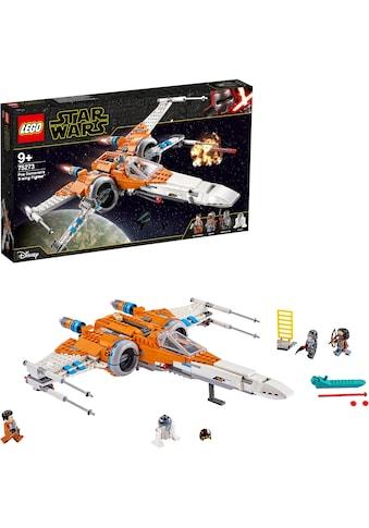 LEGO® Konstruktionsspielsteine »Poe Damerons X-Wing Starfighter™ (75273), LEGO® Star... kaufen