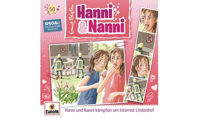Musik - CD 50/kämpfen um Internat Lindenhof / Hanni und Nanni, (2 CD) kaufen