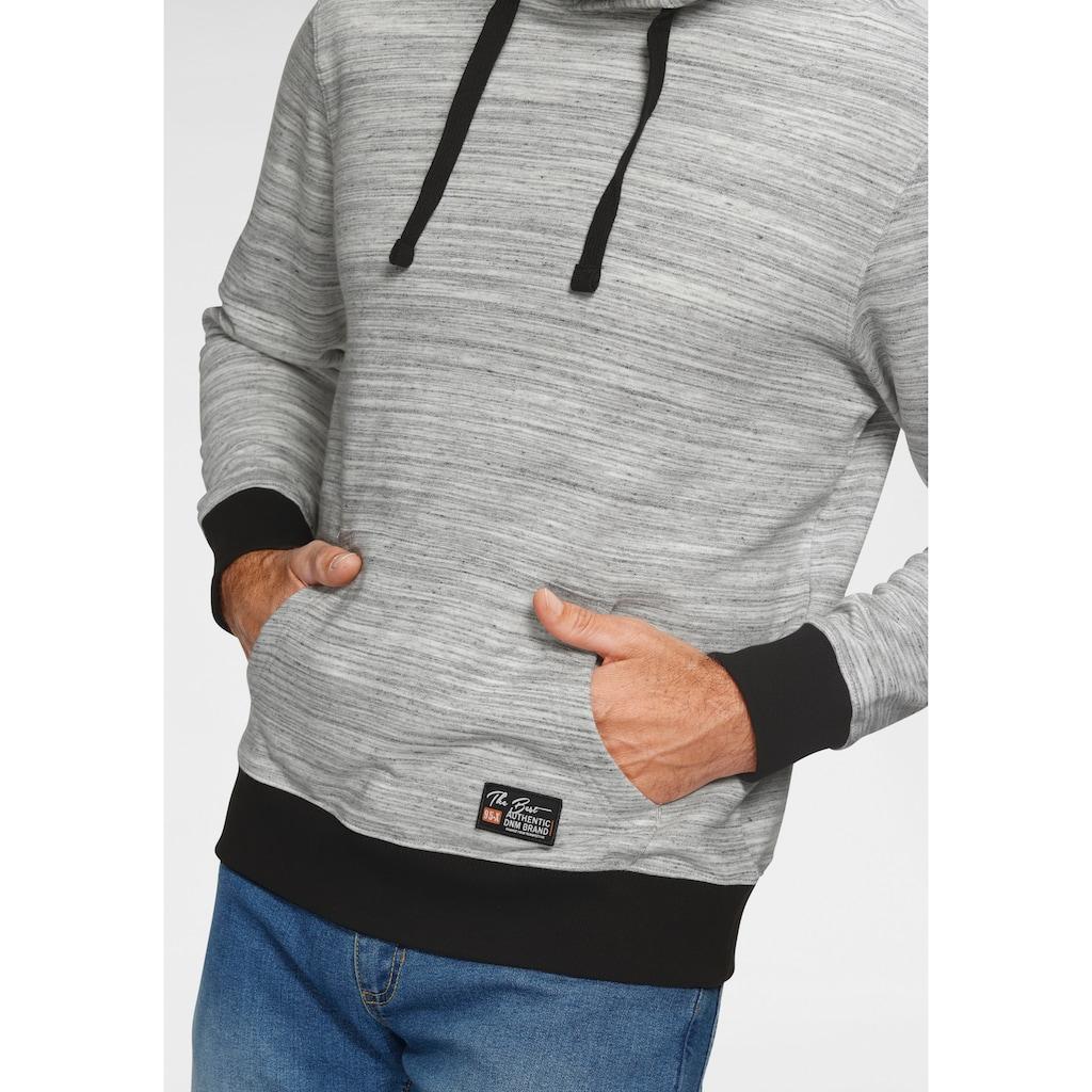 Man's World Kapuzensweatshirt, kontrastfarbene Details