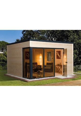 WEKA Gartenhaus »wekaLine 412 Gr.1«, BxT: 388x314 cm, inkl. Fußboden und Dachbahn kaufen