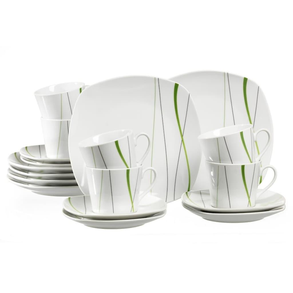 Ritzenhoff & Breker Kaffeeservice »GRACE«, (Set, 18 tlg.), Spülmaschinengeeignet