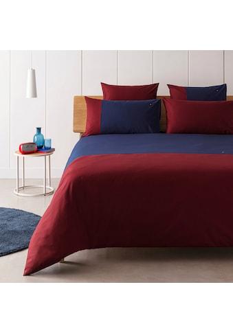 Tommy Hilfiger Bettwäsche »Colour Block«, mit Logostickerei kaufen