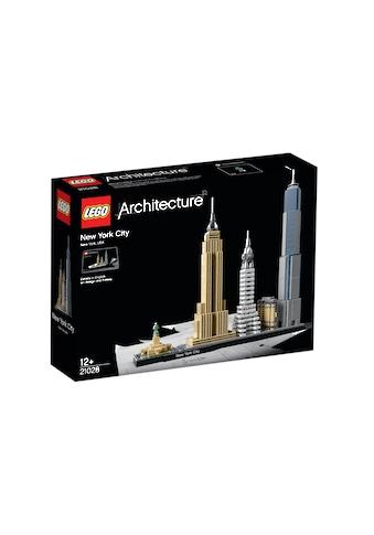 """LEGO® Konstruktionsspielsteine """"New York City (21028), LEGO® Architecture"""", (598 - tlg.) kaufen"""