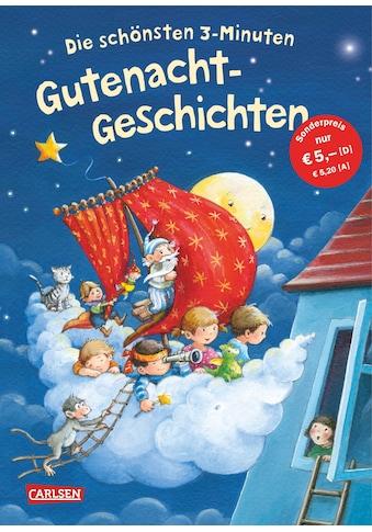 Buch »Die schönsten 3 Minuten Gutenacht-Geschichten / Diverse, Katja Reider, Miriam... kaufen