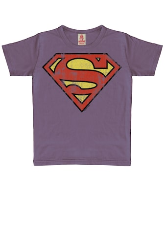 LOGOSHIRT T-Shirt »Superman«, mit heldenhaftem Vintage-Print kaufen