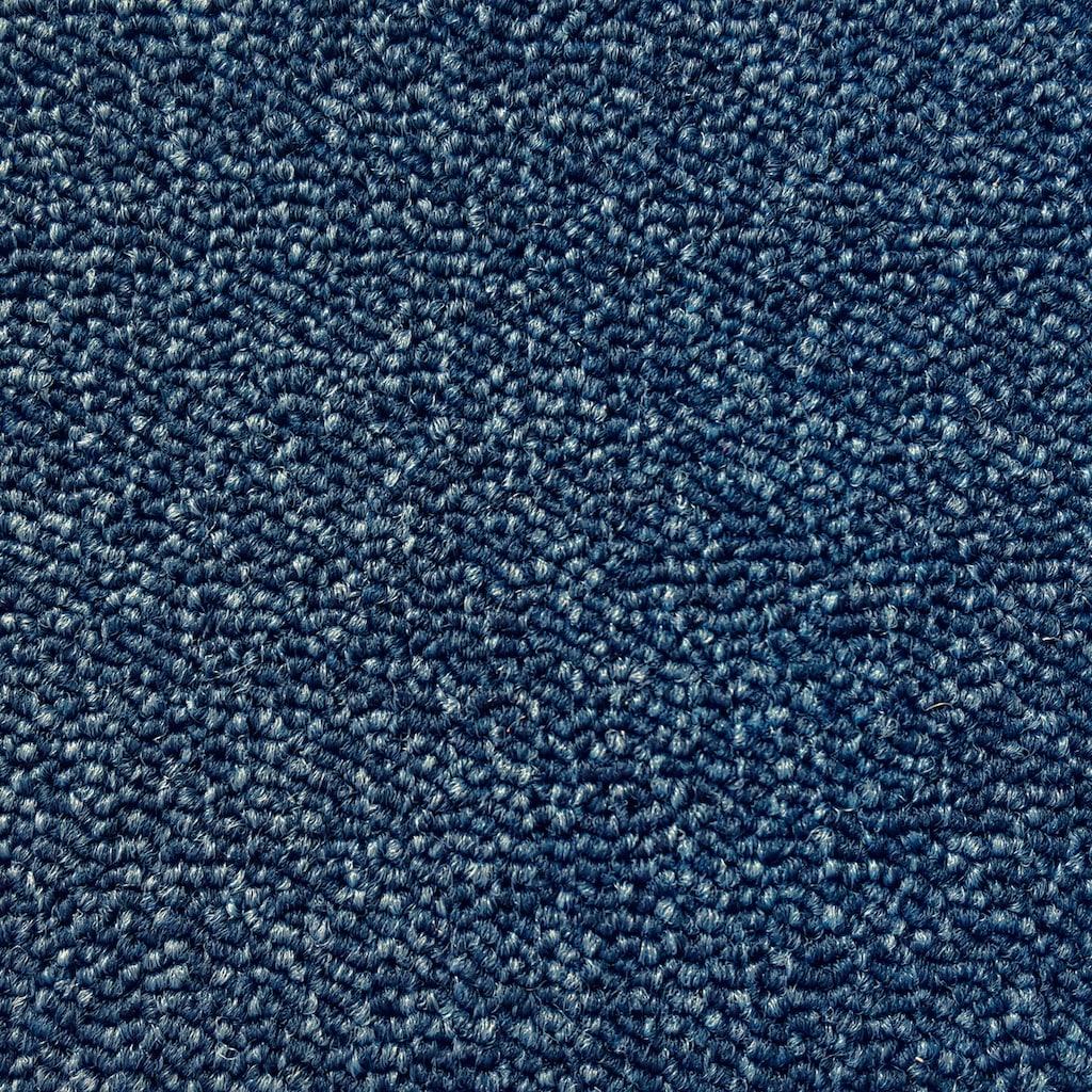 Andiamo Teppichboden »Matz blau«, rechteckig, 6 mm Höhe, Meterware, Breite 500 cm, antistatisch, schallschluckend