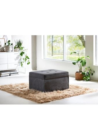ATLANTIC home collection Schlafhocker, wandelbar zum Loungesessel, Relaxliege oder Gästebett kaufen