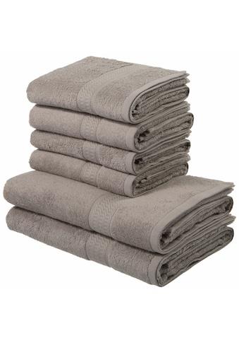 Handtuch Set, »Juna«, my home (Set) kaufen