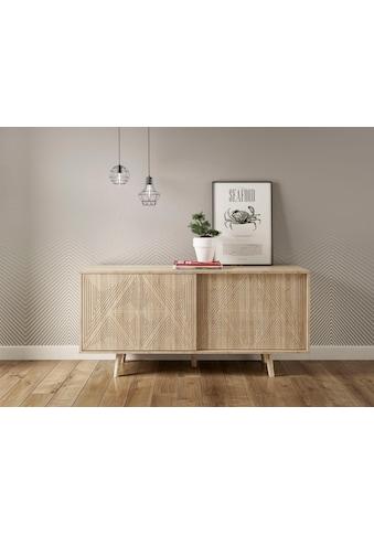 COUCH♥ Sideboard »Schwalm«, mit 2 Schiebetüren, 155 cm breit, COUCH Lieblingsstücke kaufen