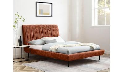 andas Polsterbett »Olof«, Design by Morten Georgsen, Rahmen mit Stoff bezogen kaufen