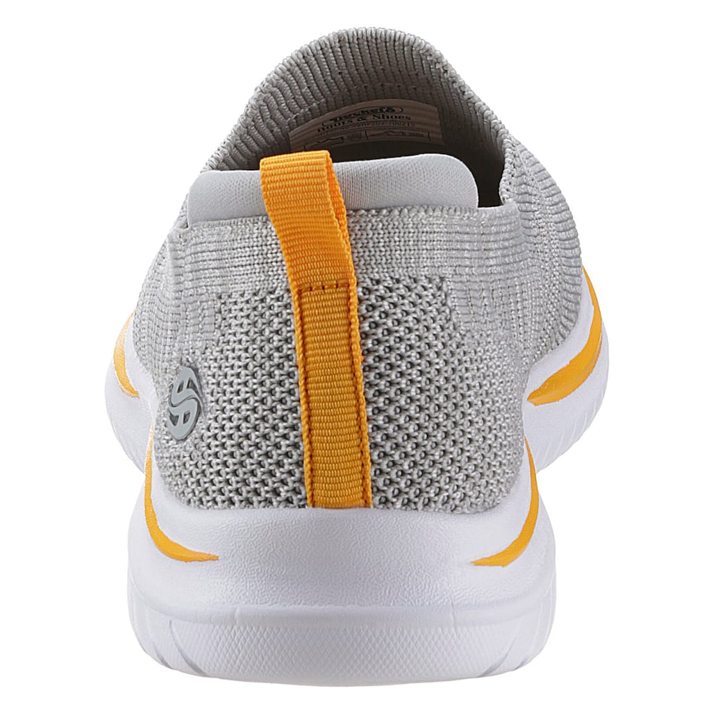 Dockers by Gerli Slip-On Sneaker, mit Kontrastdetails