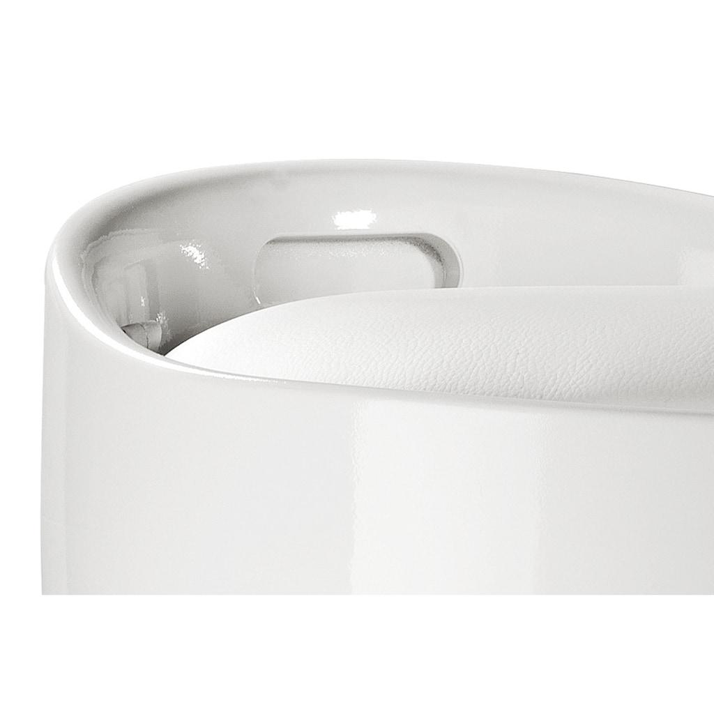 Hocker mit integriertem Wäschesammler