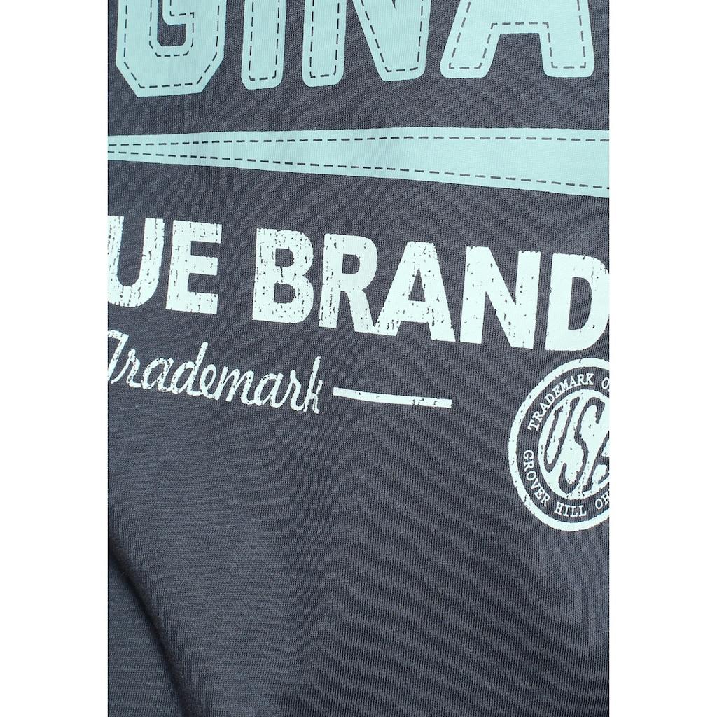 Man's World T-Shirt, mit Frontprint