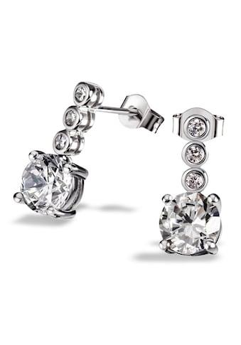 goldmaid Paar Ohrhänger 925/- Sterlingsilber 8 Zirkonia kaufen
