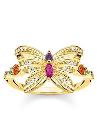 THOMAS SABO Fingerring »Schmetterling gold, TR2285-488-7-52, TR2285-488-7-54,... kaufen