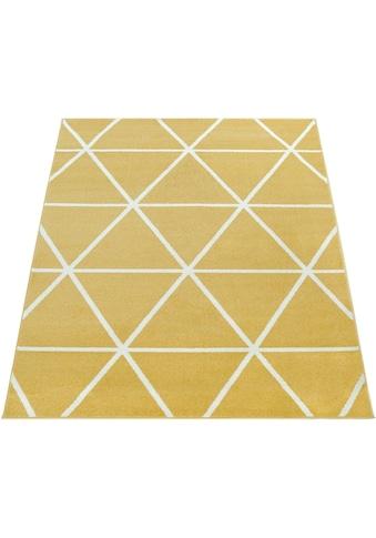 Paco Home Teppich »Stella 401«, rechteckig, 17 mm Höhe, Kurzflor, intensive... kaufen
