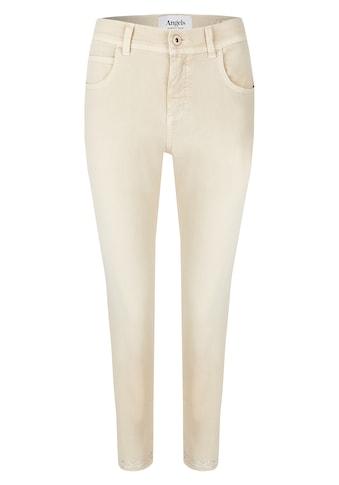 ANGELS Ankle-Jeans,Ornella Fancy' mit Glitzerapplikationen am Saum kaufen