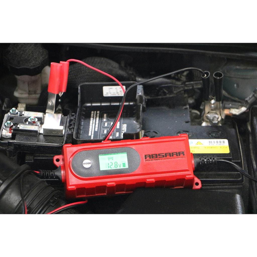 Absaar Batterie-Ladegerät, 4000 mA, 6/12 V