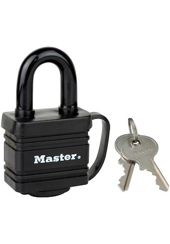 MASTER LOCK Vorhängeschloss 40 mm aus Stahl mit Thermoplast kaufen