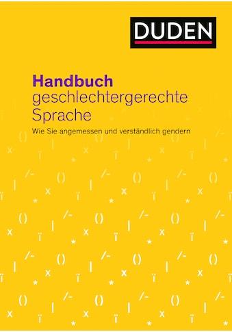 Buch »Handbuch geschlechtergerechte Sprache / Dudenredaktion, Gabriele Diewald« kaufen