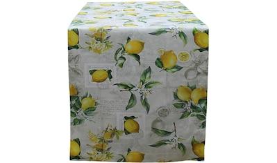 Tischläufer, »32433 Zitrone«, HOSSNER  -  HOMECOLLECTION (1 - tlg.) kaufen