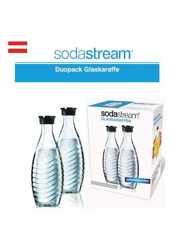 Duopack Glaskaraffe, SodaStream kaufen