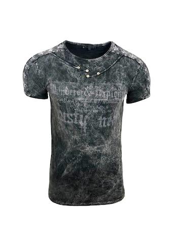 Rusty Neal T-Shirt mit coolem Allover-Print kaufen
