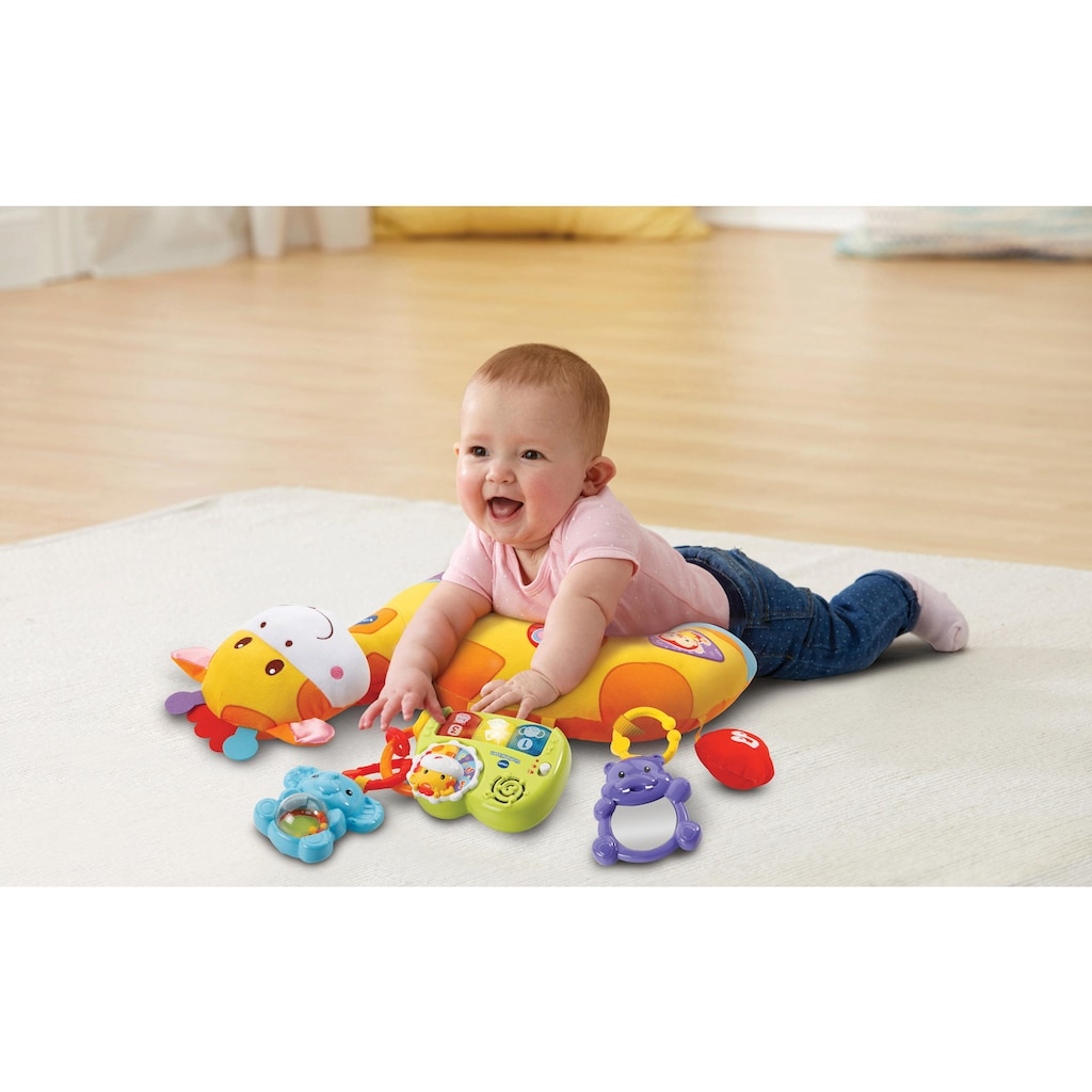 Vtech® Greifspielzeug »Giraffenkissen«