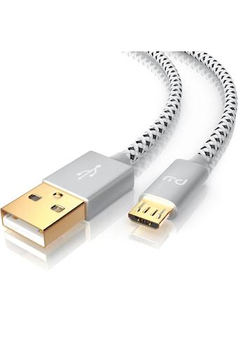 """Primewire Premium Micro USB auf USB Kabel »USB """"A"""" Stecker auf Micro """"B"""" Stecker« kaufen"""