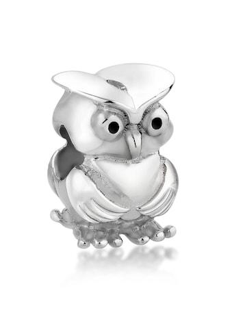 Nenalina Charm-Einhänger »Eulen Bead Anhänger 925 Silber« kaufen