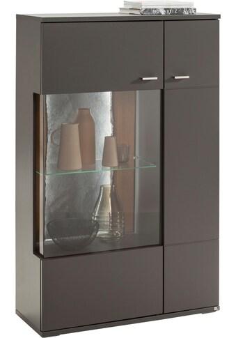 set one by Musterring Stauraumvitrine »TACOMA«, Typ 03/04, Höhe 143, 4 cm, mit getönter Glastür kaufen