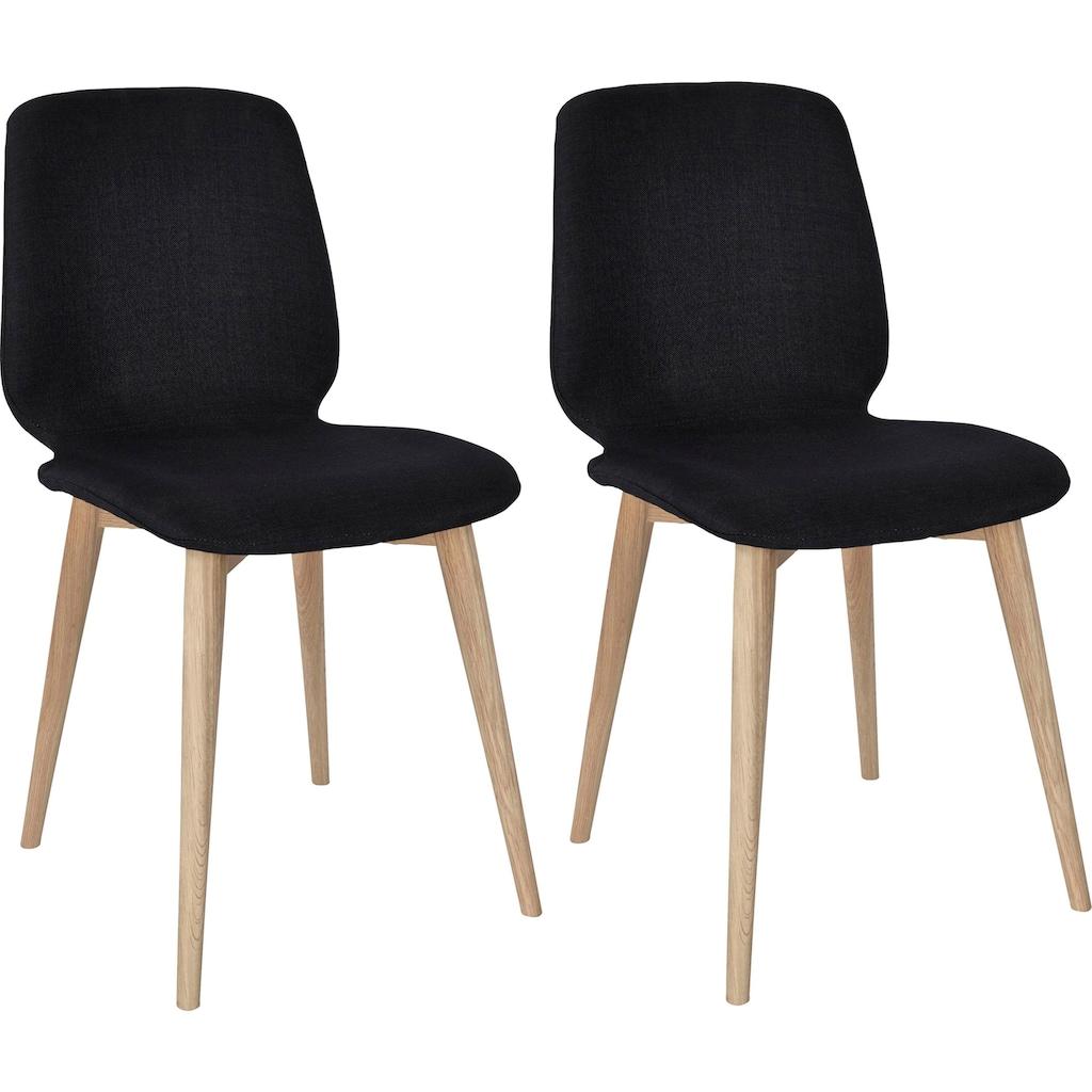 PBJ Essgruppe »Curve«, (Set, 5 tlg.), Essgruppe mit 4 Stühlen