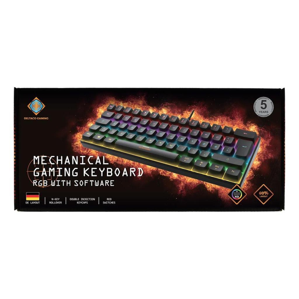 DELTACO Gaming-Tastatur »Mechanische Mini Gaming Tastatur«